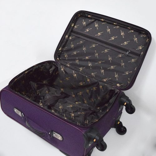 Softside Luggage With Spinner Wheels