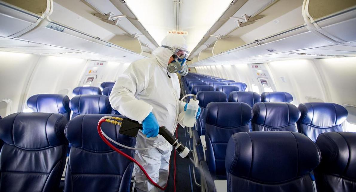 Southwest Airlines testing new method of disinfecting aircraft interiors -  Dallas Business Journal