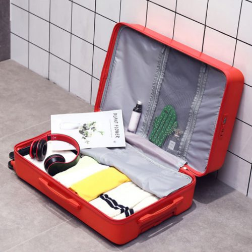 Colorful Rolling Travel Suitcase