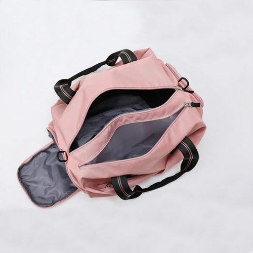 Woman's Sport Bag With Dry And Wet Separation
