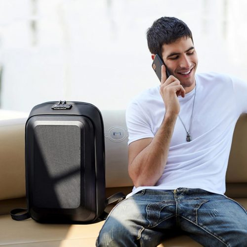Anti-theft Men Business Backpack