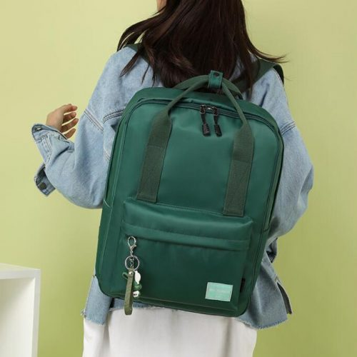 Women Travel Trolley Backpack With Wheels